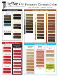 Large Softap Color Chart Pigmenta
